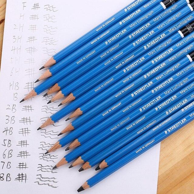 staedtler 100 blue series pencil sketch pencil made in germany