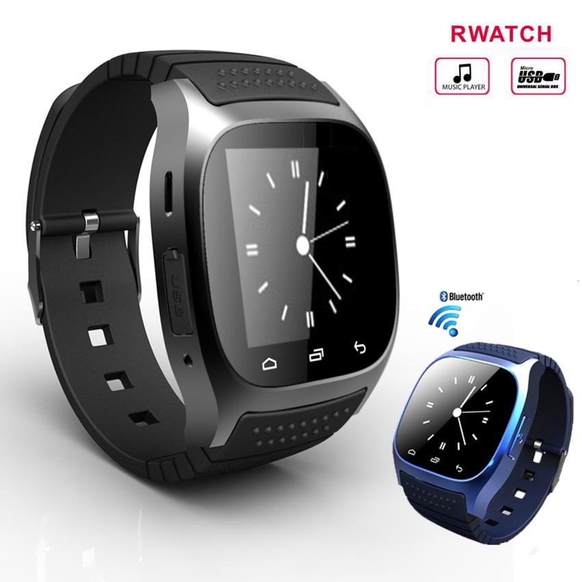 NEW M26 Bluetooth font b Smart b font font b Watch b font luxury wristwatch R