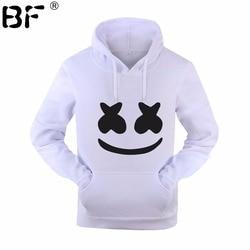 Marshmello Smiley Face Hoodies Men Hip Hop Fashion Streetwear Hoodie SweatshirtS M-3XL Hoodied Man Tops Brand Clothes 6