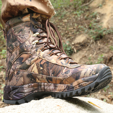 Outdoor Hiking Shoes Camouflage Sneakers Men waterproof hunting Military desert boots trekking Climbing