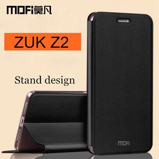 super popular 1e1ae a59fb US $9.99 |ZUK Z2 case MOFi original Lenovo ZUK Z2 leather cover TPU flip  case silicon back cover phone cases 5.0 inch luxury coque funda-in Flip  Cases ...