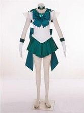 Сейлор Мун Сейлор Нептун косплей костюм Halloween dress аниме Бесплатная Доставка на заказ третьей серии
