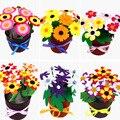 Spielzeug für Kinder Handwerk Kinder DIY Blumentopf Topfpflanze Kindergarten Lernen Bildung Spielzeug Montessori Lehrmittel Spielzeug