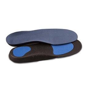 Ортопедические InsolesFlatfoot ортопедические Cubitus Varus ортопедические стельки для ухода за ногами унисекс дезодорирующие стельки - Цвет: Синий