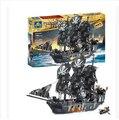 Черная Жемчужина Строительные Блоки KAIZI KY87010 пираты карибского моря корабль самоконтрящаяся кирпичи Сборки игрушки 1184 шт. набор подарок