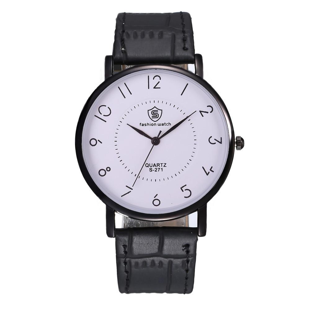 Nouveau hommes Sport Montre tête armée horloge classique en cuir montres de haute qualité Quartz Montre-bracelet nouveau Relogio Masculino Montre Homme