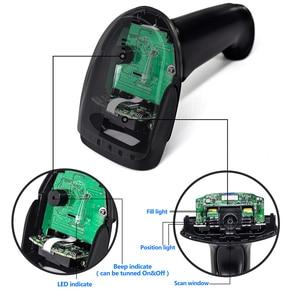 Image 5 - 2D Scanner di Codici A Barre, Symcode 1D/2D CMOS Palmare Via Cavo USB2.0 Lettore di Codice a Barre, Codici di Lavoro per Lo Schermo