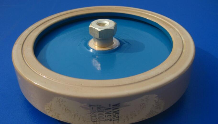 Round ceramics Porcelain high frequency machine new original high voltage CCG81-7 1000PF 25KV 125KVA