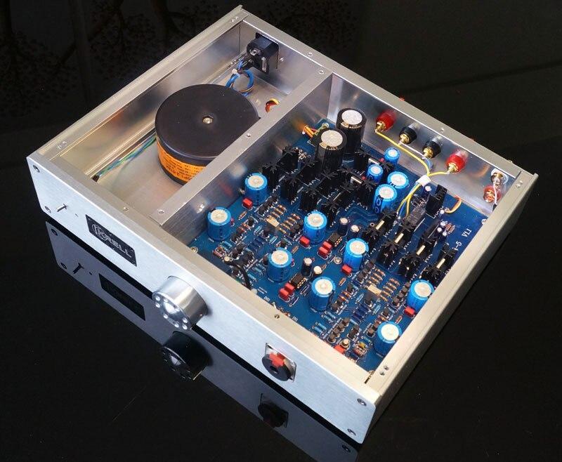 цена на Headphone amplifier Imitation KRELL ksa5 line CPI full DC amp machine + small power output 20W Class A amplifier