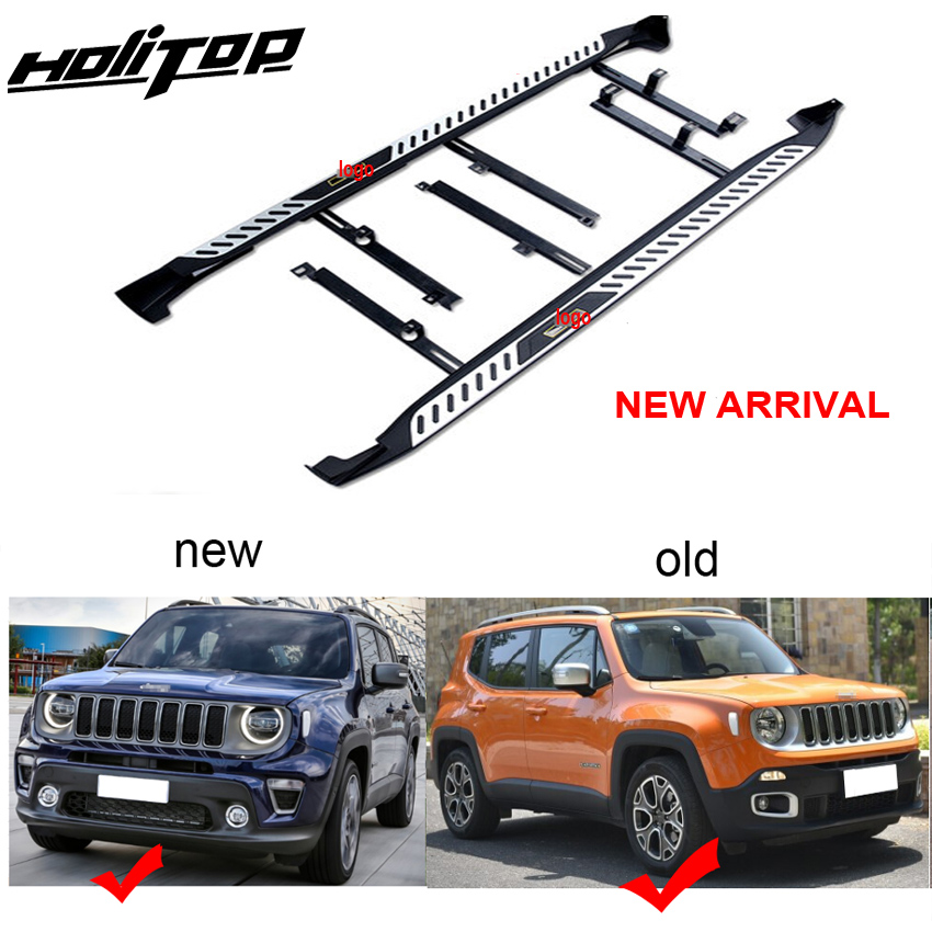 New arrival for jeep Renegade side steps foot steps running board side bar.Newest design,ISO9001 quality.free shipping to Asia.Armrests   -
