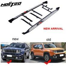Nueva llegada para jeep Renegade escalones laterales escalones de pie running board barra lateral. Nuevo diseño, calidad ISO9001, fácil instalación