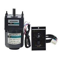 4M25GN C AC gear motor single phase motor slow reversing micro speed small motor AC220V/25W