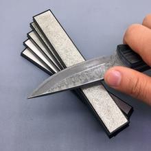 Juego de 5 unidades de cuchillos de cocina, piedra de afilar con diamante, afilador Apex, juego de afiladores ruixin