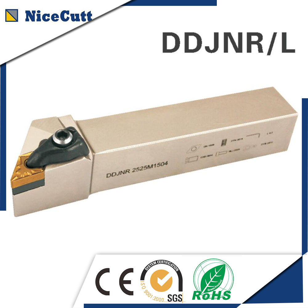 DDJNR/L2020K1506 Nicecutt External Turning Tool Holder For DNMG Insert Lathe Tool Holder