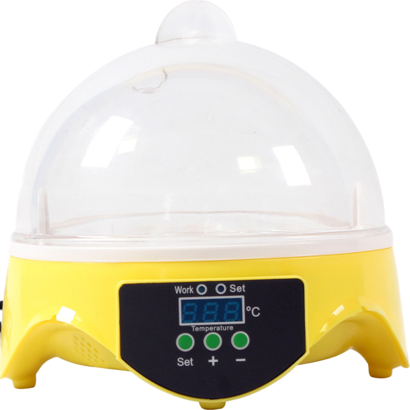 High Quality Mini Egg Incubator 7PCS Eggs Automatic Poultry Chicken Hatcher Machine