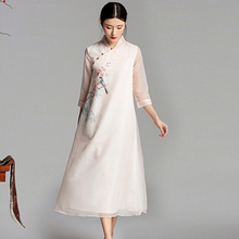 6fd195c7b1 Buy vintage dress women modern chinese style and get free shipping ...