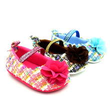 Lovely Baby Kid Soft Sole Baby Shoes Anti slip Infant Toddler Girls Shoes First Walkers Princess