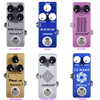 Moskyaudio Mini Guitar Effect Pedal Overdrive Compressor Distortion Chorus Delay Reverb Pledals
