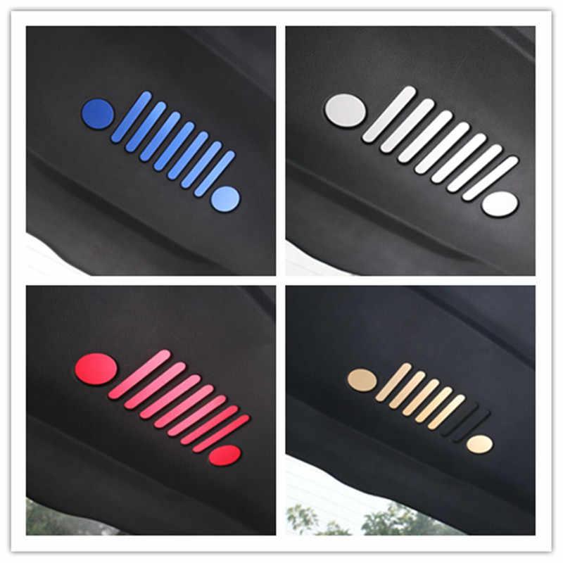 Per Jeep Renegade Più Nuovo Car Styling Accessori Rear Trunk Bagagli Door Sticker Emblem Badge 9pcs