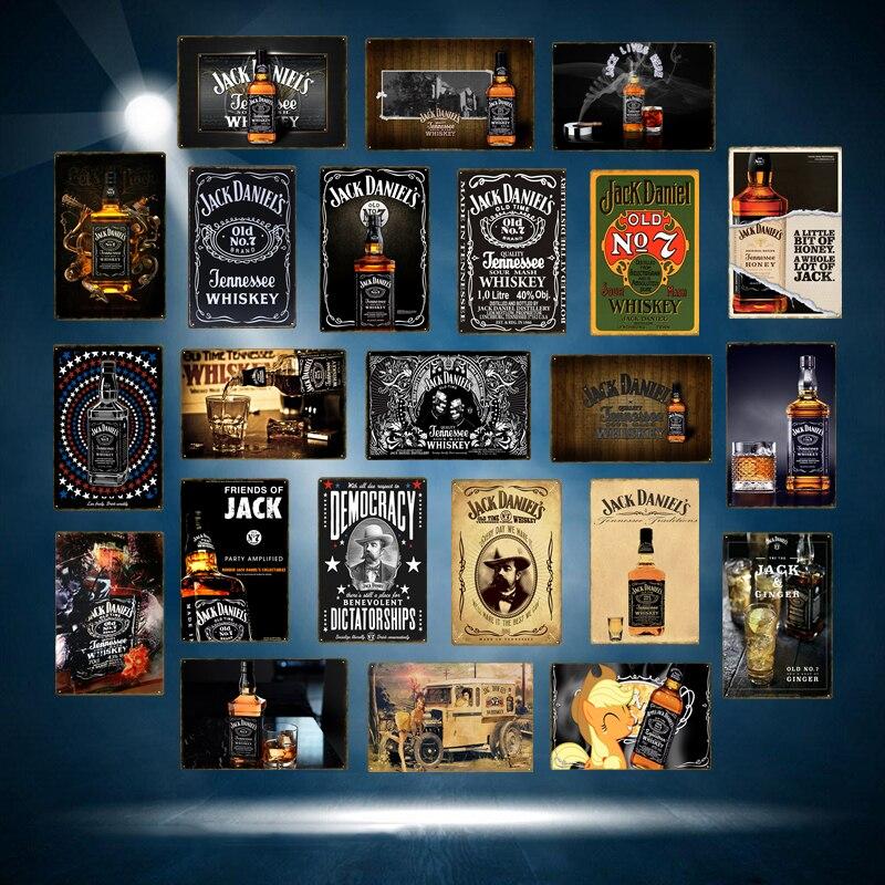 Tôle Plaque XXL Nostalgie Alcool Rétro Scottish peint whisky