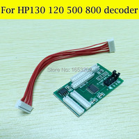 With Chip Decoder Don't Need Use Cartridge Chip For HP 10 11 82 84 85 Cartridges For HP Designjet 500 800 800ps 130 90 Printer