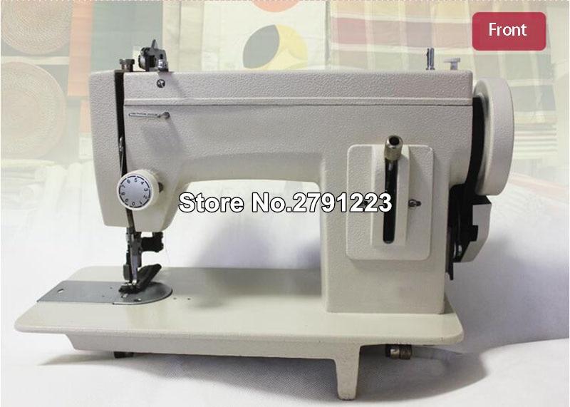 Portable Walking Foot Zigzag Stitch 40'' Arm Sewing Machineleather Fascinating Portable Tarp Sewing Machine