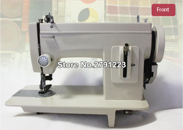 Portable Walking Foot Zigzag Stitch 40'' Arm Sewing Machineleather Stunning Leather Sewing Machine