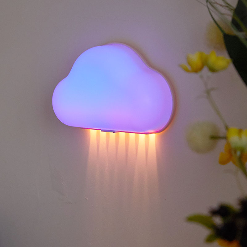 DENGSUM LED night light children 39 s room sleeping with a night light remote control dimming clouds colorful lights in LED Night Lights from Lights amp Lighting