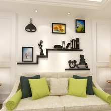 2018 new Creative photo frame bookshelf Arcley 3D wall sticker dining-room sofa bedroom TV background decoration sticke