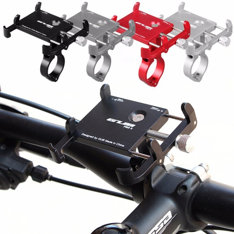 GUB PRO2 High-quality Durable Portable Practical bike scooter bracket Suitable For Millet xiaomi Bicycle Mobile Phone Holders image