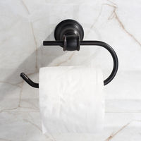 Wall Mounted Black Oil Rubbed Stainless Steel Bathroom Toilet Paper Roll Holder