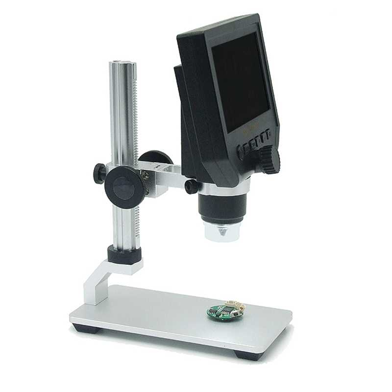 600X Microscope électronique numérique Portable 3.6MP téléphone Mobile Microscopes HD carte mère réparation loupe al-alliage Stent