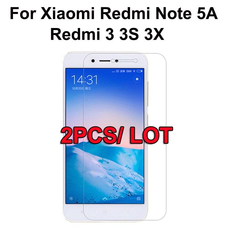 Screen-Protector-Film Tempered-Glass Redmi3 9H Xiaomi For 3-3s/3x/Redmi3/.. 2PCS Premium