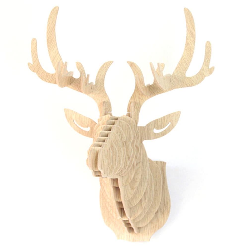 Deer Head Wall Art popular wood deer head wall mount-buy cheap wood deer head wall