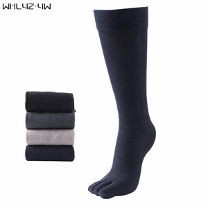 Image 2 - Veridical 5 Pairs/Lot 2010 Hot Sale Five Fingers Socks Long Combed Cotton Good Quality Compression Sock 5 Finger Socks Calcetine