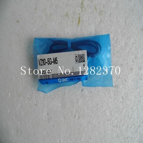 [SA] New Japan genuine original SMC solenoid valve VZ110-5G-M5 spot --2PCS/LOT[SA] New Japan genuine original SMC solenoid valve VZ110-5G-M5 spot --2PCS/LOT