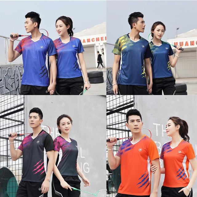 Girls tennis women Shirt Short , t-shirt badminton , tennis women clothing , Men table tennis tracksuit , ping pong clothes