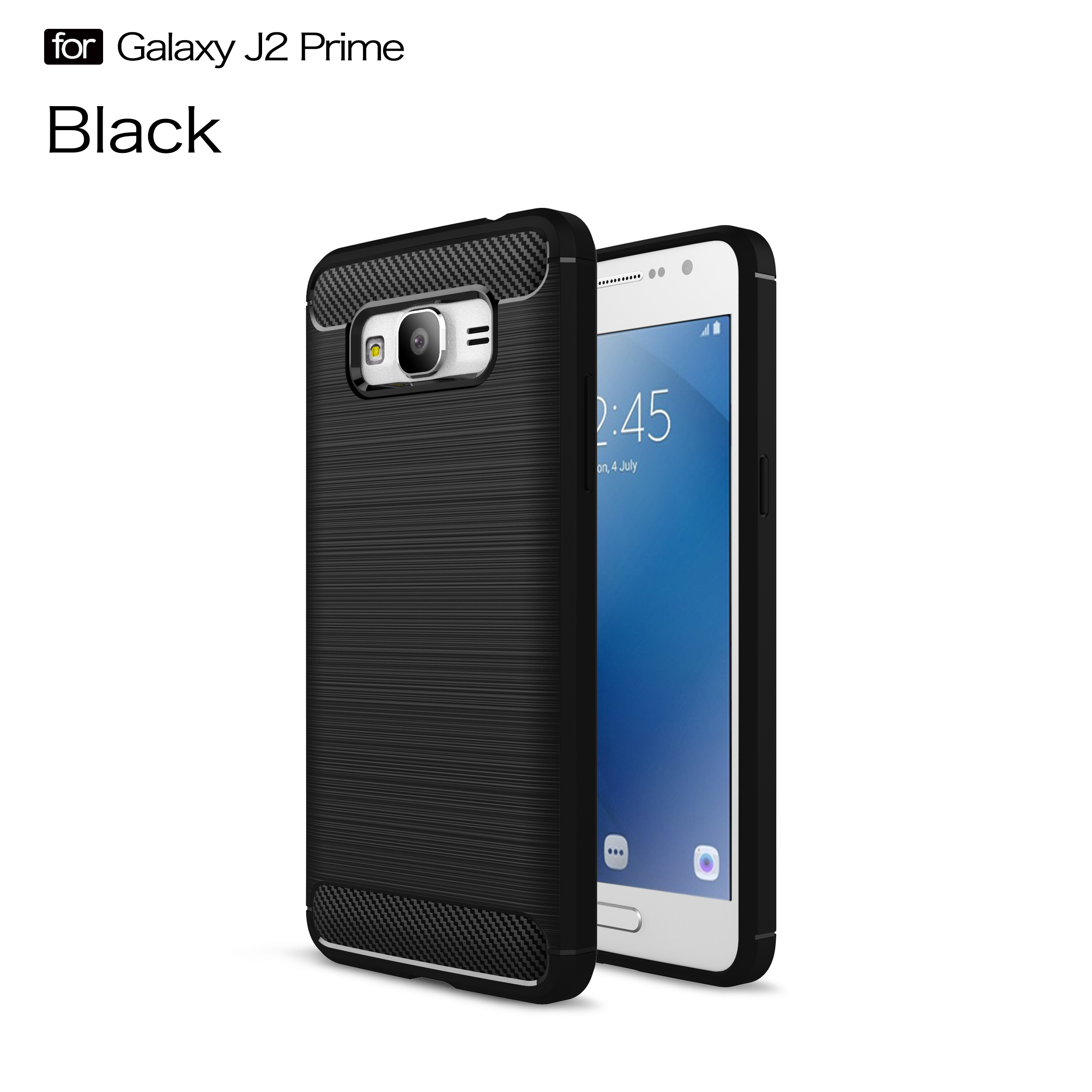 For Samsugn Galxy J2 J5 J7 Prime A9 Star S6 S7 Edge Note 9 Case Carbon