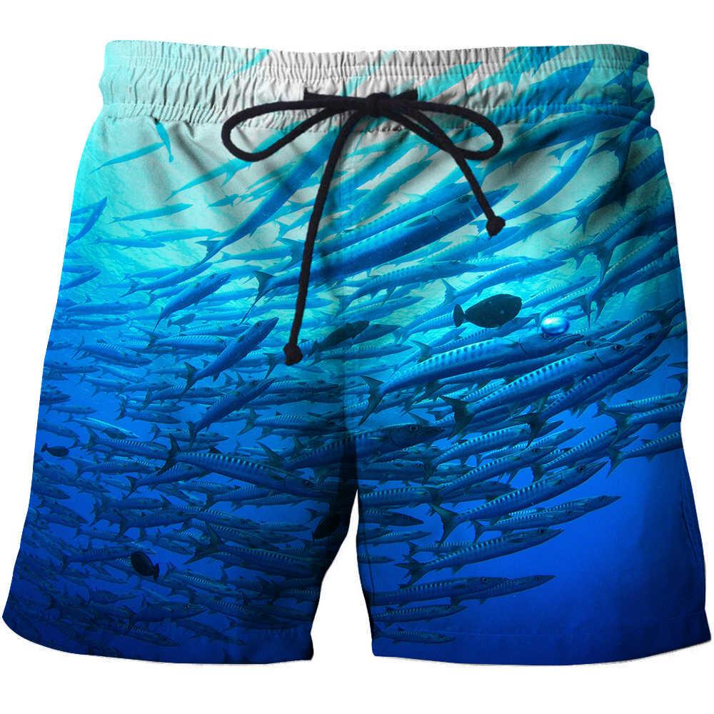 1ae1ec3ba4 ... 3D Fishing Printed Men Board Shorts Bermuda Surf Swimming Shorts Quick  Dry Short Swim Trunks Funny