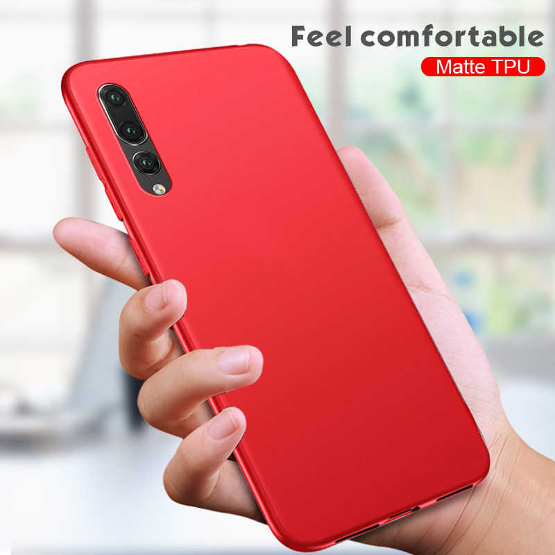 Soft Matte Case For Huawei Mate 20 10 P20 P30 Pro Nova4 P Smart Y9 2019 Cover For Huawei Honor 8X MAX 10 9Lite V9 Play 9i 6C Pro