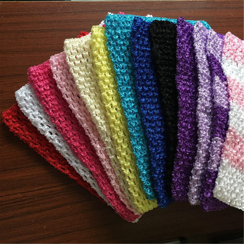 f97faf61fac 13Colors 23x20cm Tulle Crochet Tutu Top Chest Wrap Tube DIY Sewing Knit  Fabric Spool Handmade Kids Headbands Skirt Accessories Tags