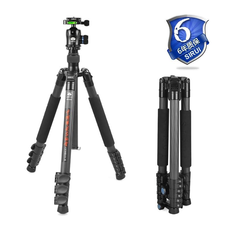 Sirui SLR Camera Tripod Professional Photography Package Portable Tripod+Ball Head+Quick Release Plate Kit Pro DHL ET2204+K20X pro q308 aluminum portable digital photography tripod with ball head