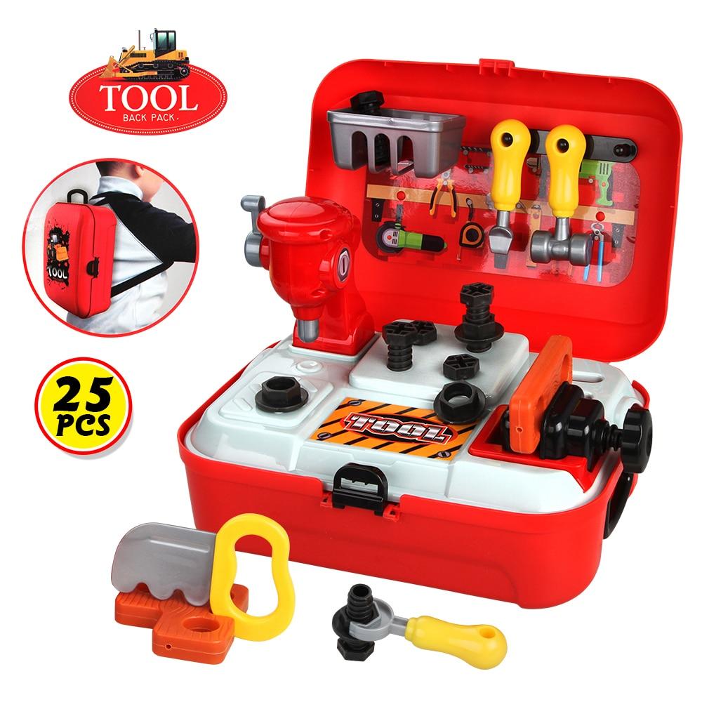 Baby Miniature Kids Pretend Play Toys Repair Tools ...