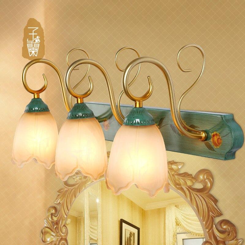 Bathroom Light Fixtures Fix: Vanilla Lighting European Style Garden Mirror Light