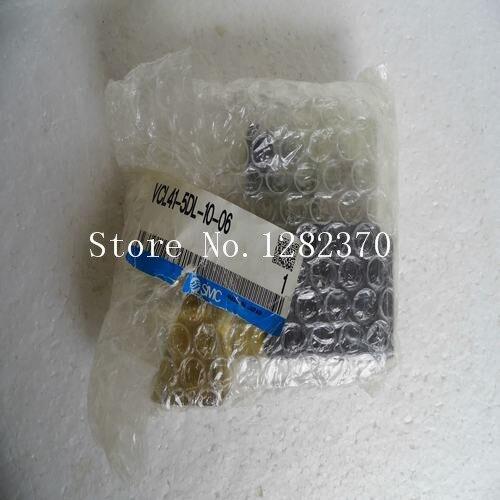 [SA] New Japan genuine original SMC solenoid valve VCL41-5DL-10-06 Spot [sa] new japan genuine original smc solenoid valve vcl41 5dl 10 06 spot