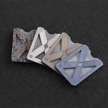 2018 New EDC Pure Titanium Alloy Clip Wallet Multifunction Card Holder Man Gift Inception Outdoor Gadget Multi Tools