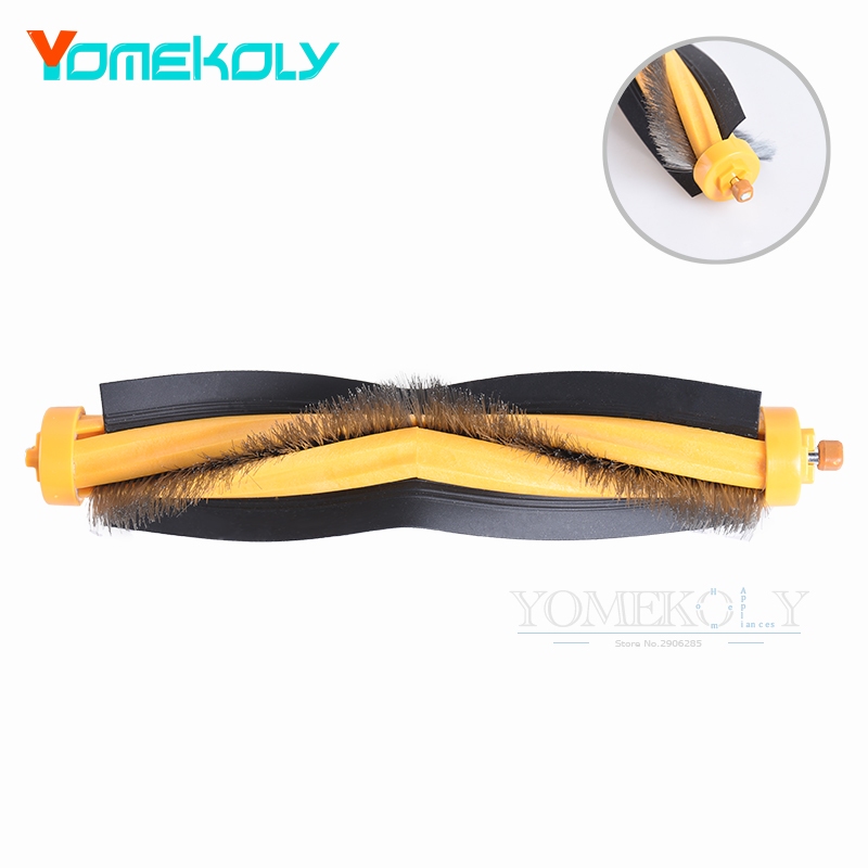 Robot Vacuum Cleaner Parts Main Brush for Ecovacs Deebot DT85/DT83/DM81/DM85/DT85G Replacement Spare Kits 3 pairs hepa filter 1pc turbo brush main agitator brush 3 pairs side brush for deebot dt85 dt83 dm81 vacuum cleaner for house