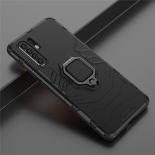 For Huawei P30 Pro Case Magnetic Finger Ring Kickstand Hard Fundas Phone Cover