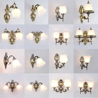 Modern LED Cloth Wall Lamp Wall sconce Light Hallway Bedroom Bedside Light flaxen/black/white