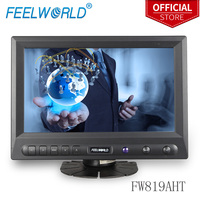 Feelworld FW819AHT 8 Inch 800x480 TFT LCD Touch Screen Monitor with HDMI VGA Video Audio 8 LCD Monitor